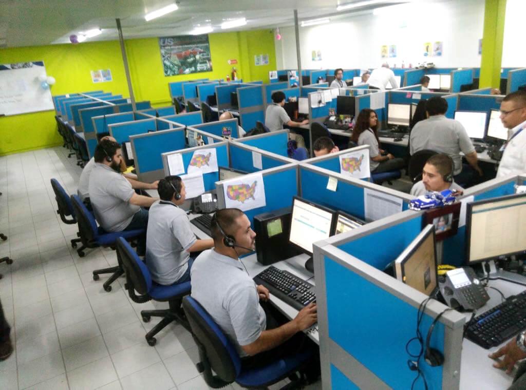 call center in Mexico